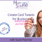 Twitter for Business ebook by Darah Fletcher Mushroom Souffle