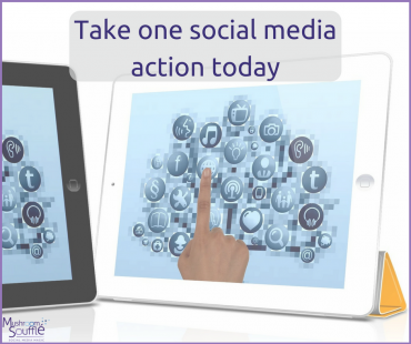 Take one action today, show your business some social media love