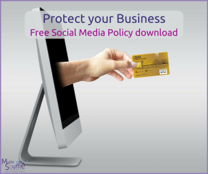 Social Media Policy template download - Lennons Solicitors and Mushroom Soufflé