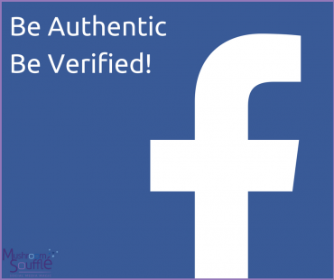 The coveted verified tick for Facebook Pages