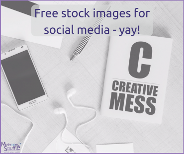 Free stock images for social media? Yes please!