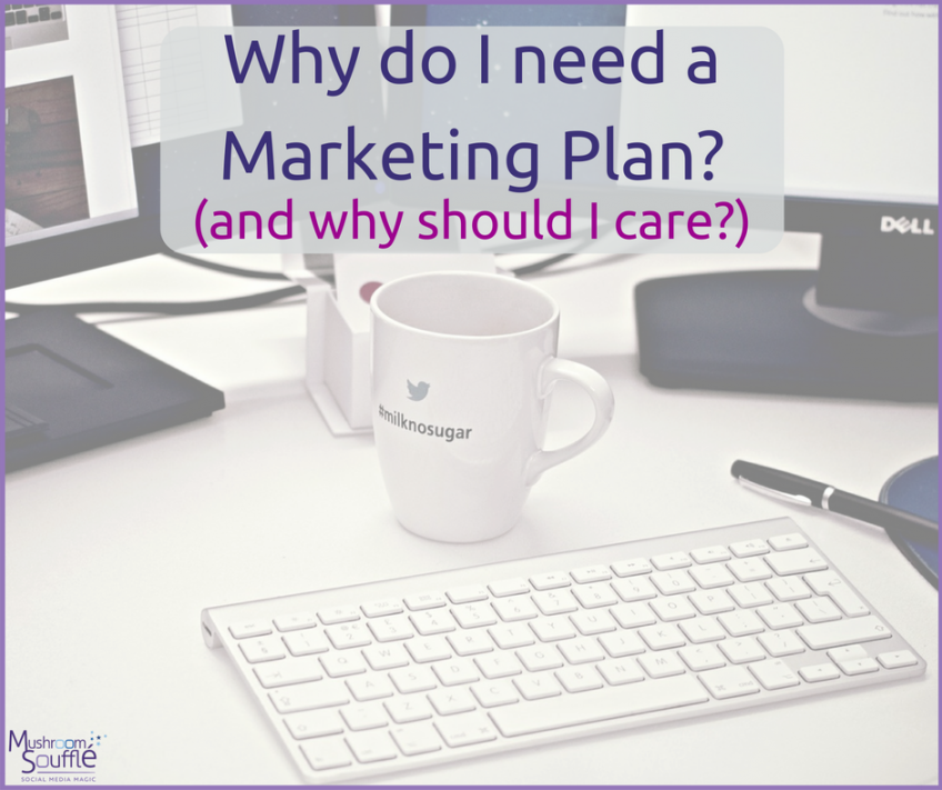 Why do I need a Marketing Plan? (and why should I care?)