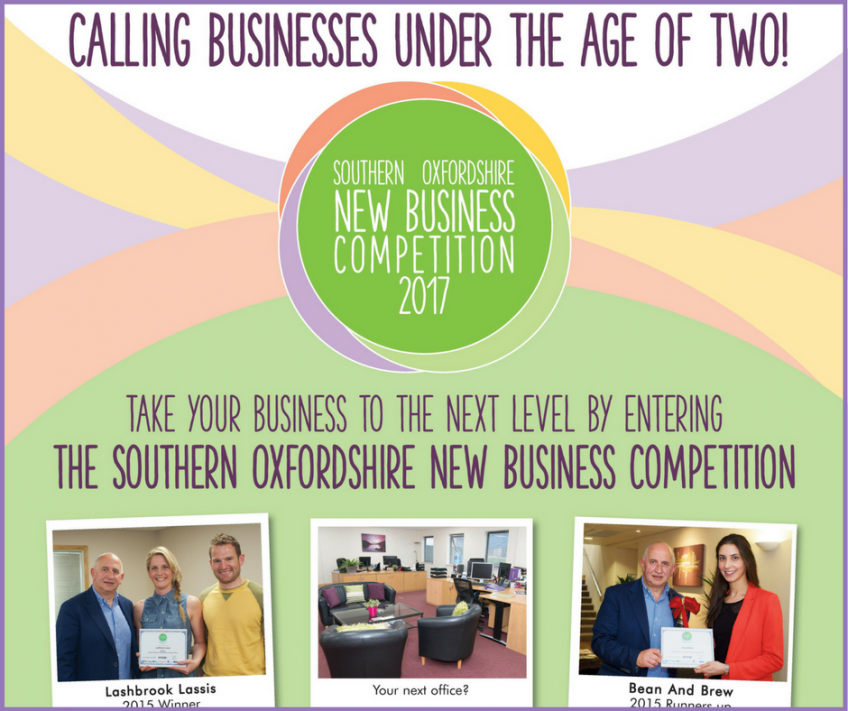 Southern Oxfordshire New Business Competition 2017