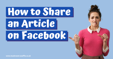 How to share an Article on Facebook