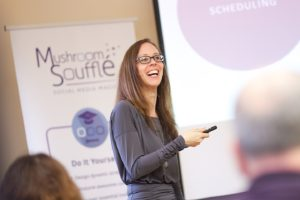 Sarah Fletcher - Social Media Trainer and Social Media Coach - Social Media Content Mastermind