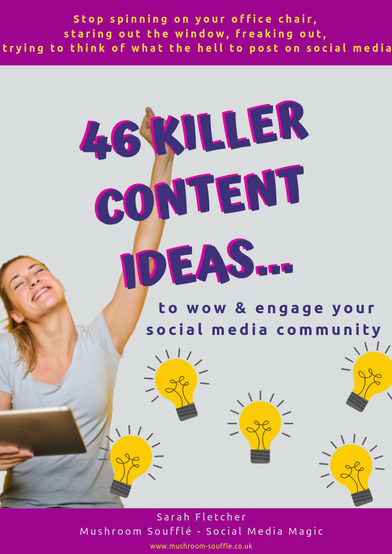 46 Killer Content Ideas ebook