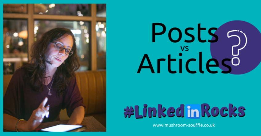 Posts vs Articles on LinkedIn