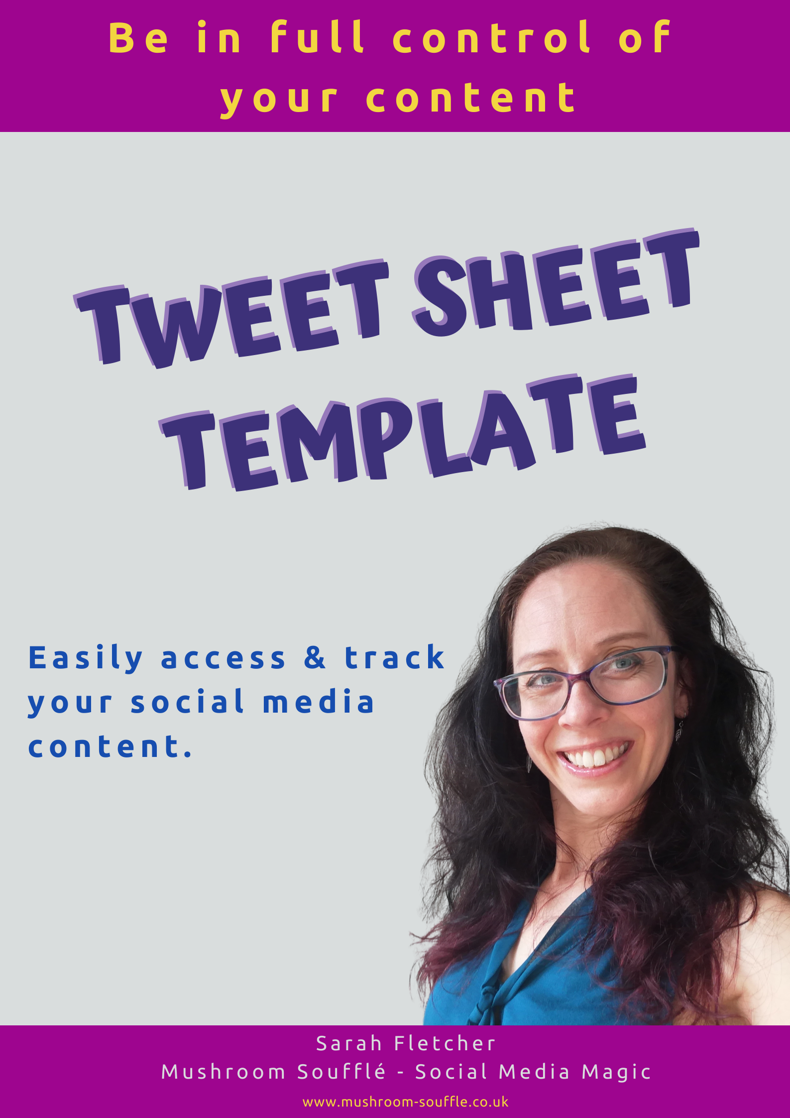 Tweet Sheet Template