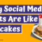 Why Social Media Posts Are Like Pancakes - Mushroom Souffle
