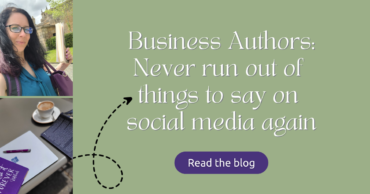Business Authors: Never run out of things to say on social media again