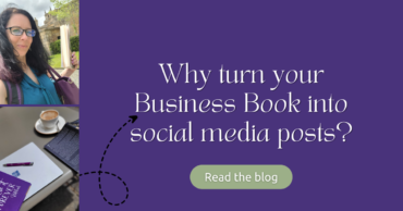 Why turn your business book into social media posts?